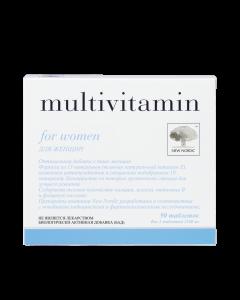 Multivitamin woman